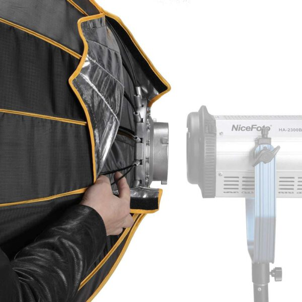 Nicefoto LED professional Umbrella Softbox Photography Studio SoftBox with Grid 9
