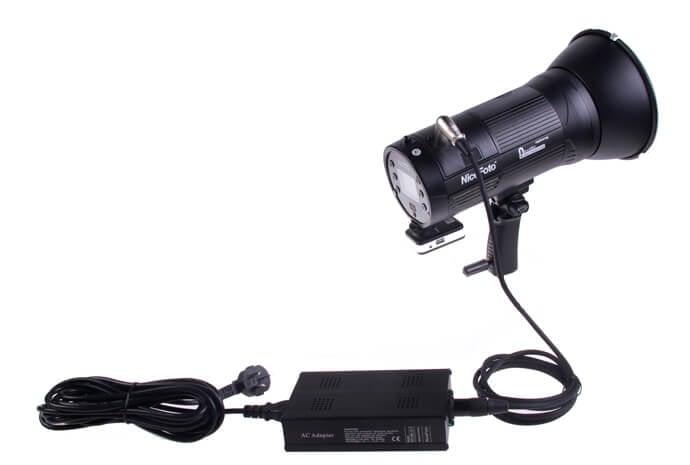 PW 20 NiceFoto AC Power Adapter for NiceFoto HB 1000B II HB 1000A LED Light 3