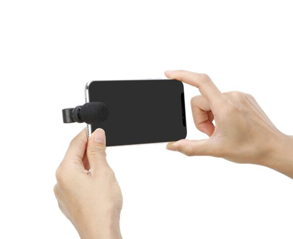Saramonic Smartmic Di mini stereo with lighting connecter for apple iphone 2 scaled