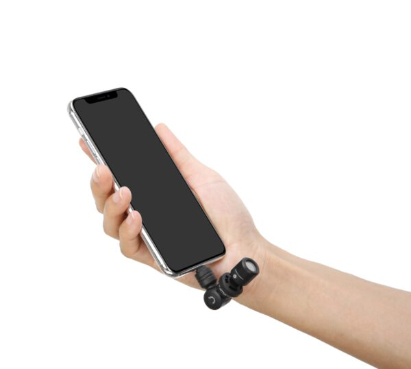 Saramonic Smartmic Di mini stereo with lighting connecter for apple iphone 6 scaled