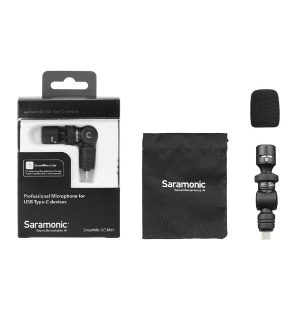 Saramonic Smartmic UC mini Professional Microphone for USB Type C devices 6 scaled