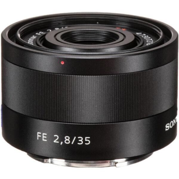 Sony Lens ZA SEL35F28Z FE 35mm F2.8 Carl Zeiss Sonnar T 2