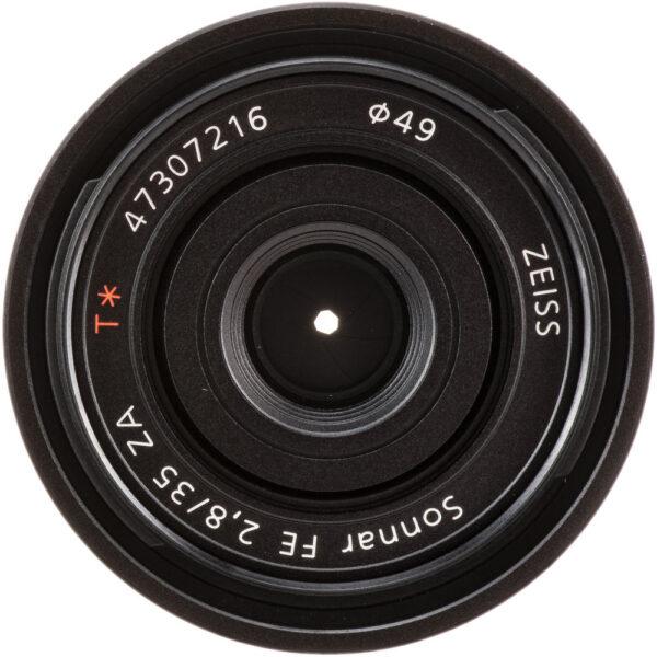 Sony Lens ZA SEL35F28Z FE 35mm F2.8 Carl Zeiss Sonnar T 5