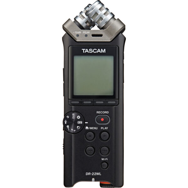 Tascam DR 22WL Portable Handheld Recorder with Wi Fi 2
