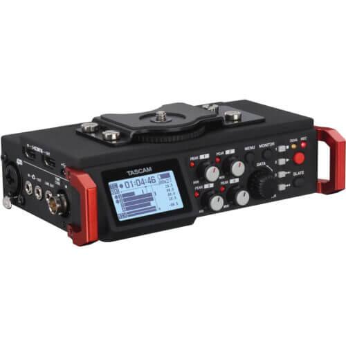 Tascam DR 701D 4 Channel 6 Track Multitrack 1