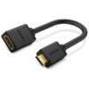 Ugreen 20137 Mini HDMI Male to HDMI Female Adapter Cable 22cm Black 4
