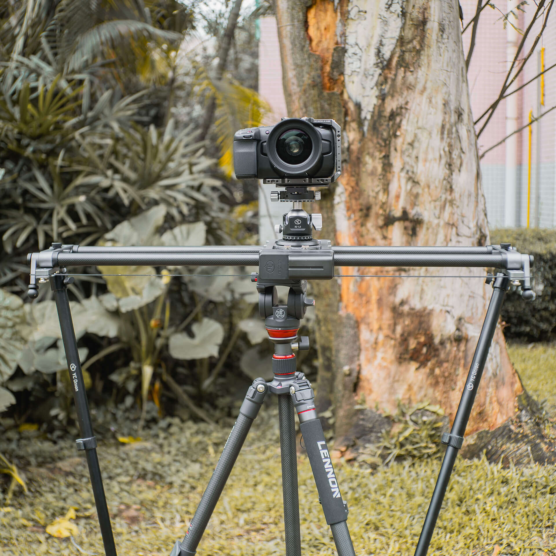 YC Onion HDM120 HOT DOG 120cm prlx Pan Slider with App 8