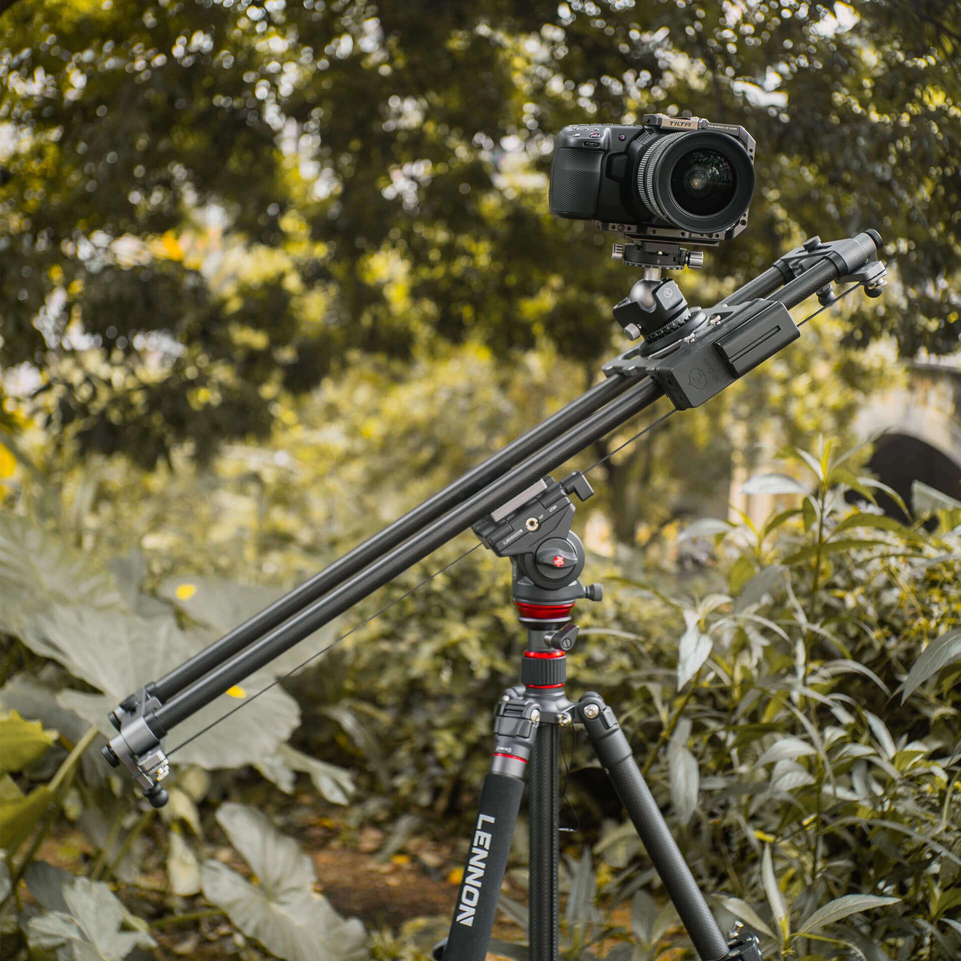YC Onion HDM120 HOT DOG 120cm prlx Pan Slider with App 9