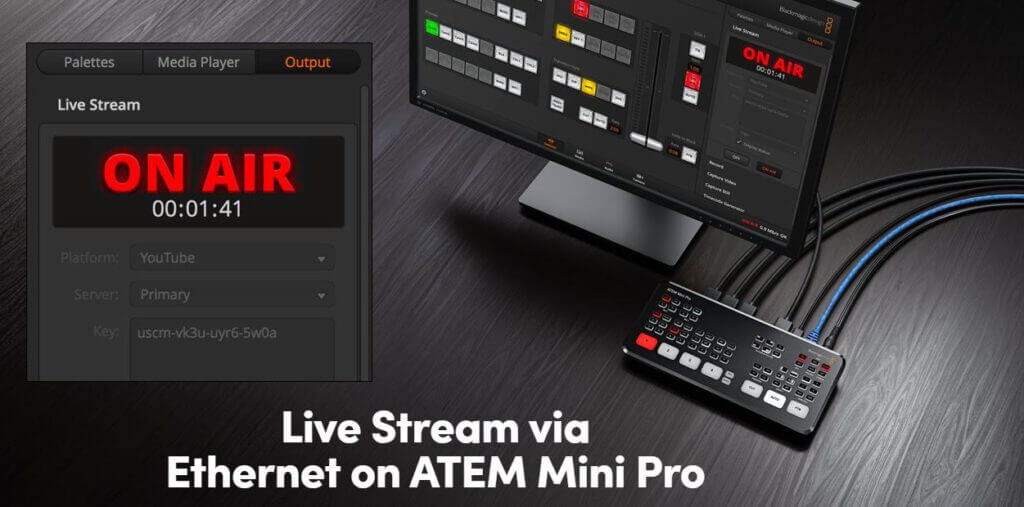 Blackmagic Atem Mini Pro Live Stream