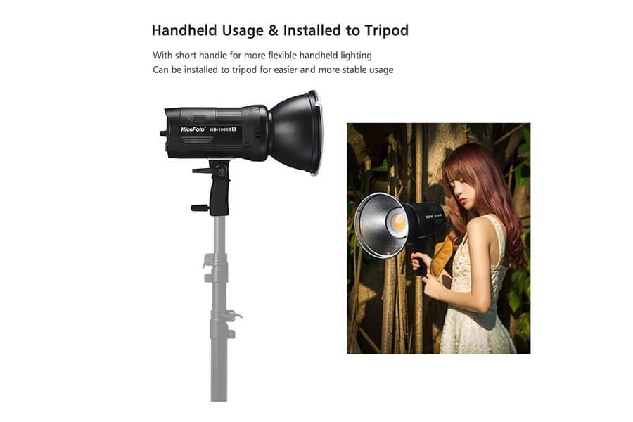 nicefoto hb1000bii handheld tripod