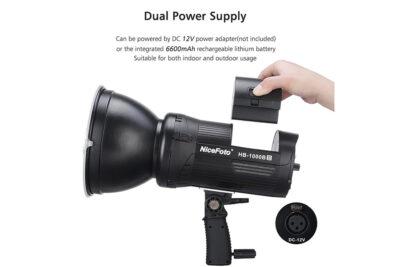 nicefoto hb1000bii dual power supply