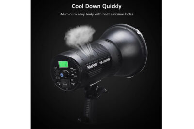 nicefoto hb1000bii cool down quickly