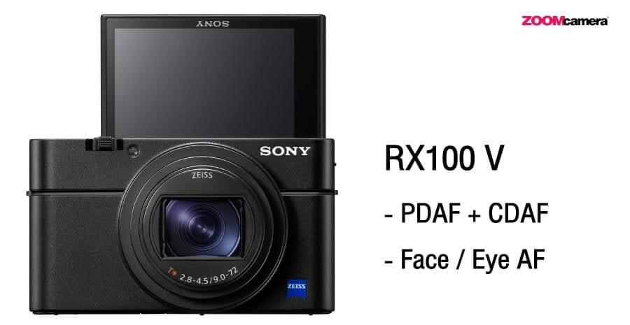 เปรียบเทียบ Sony ZV1 vs RX100 V ระบบ Focus