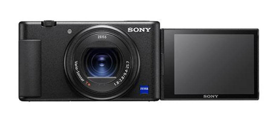 เปรียบเทียบ Sony ZV1  Flip LCD