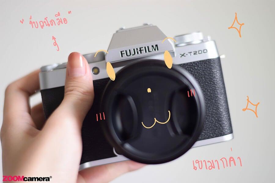 รีวิว fujifilm x-t200 body