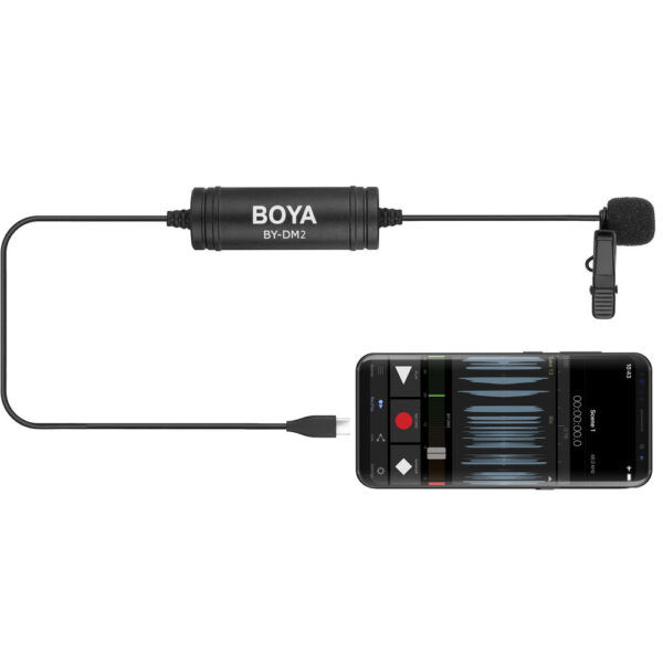 BOYA BY DM2 Digital Lavalier Microphone for Android Devices 8