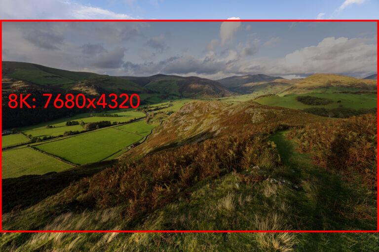 Canon EOS R5 resolution