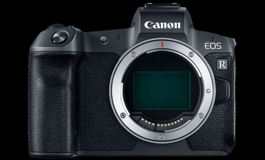 Canon EOS R5 front view