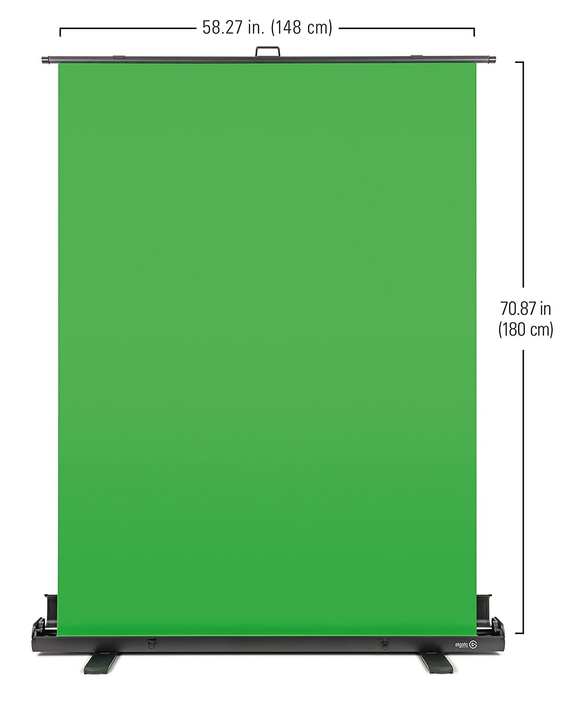 Elgato 10GAF9901 Porable Green Screen 148x180 Inches 1