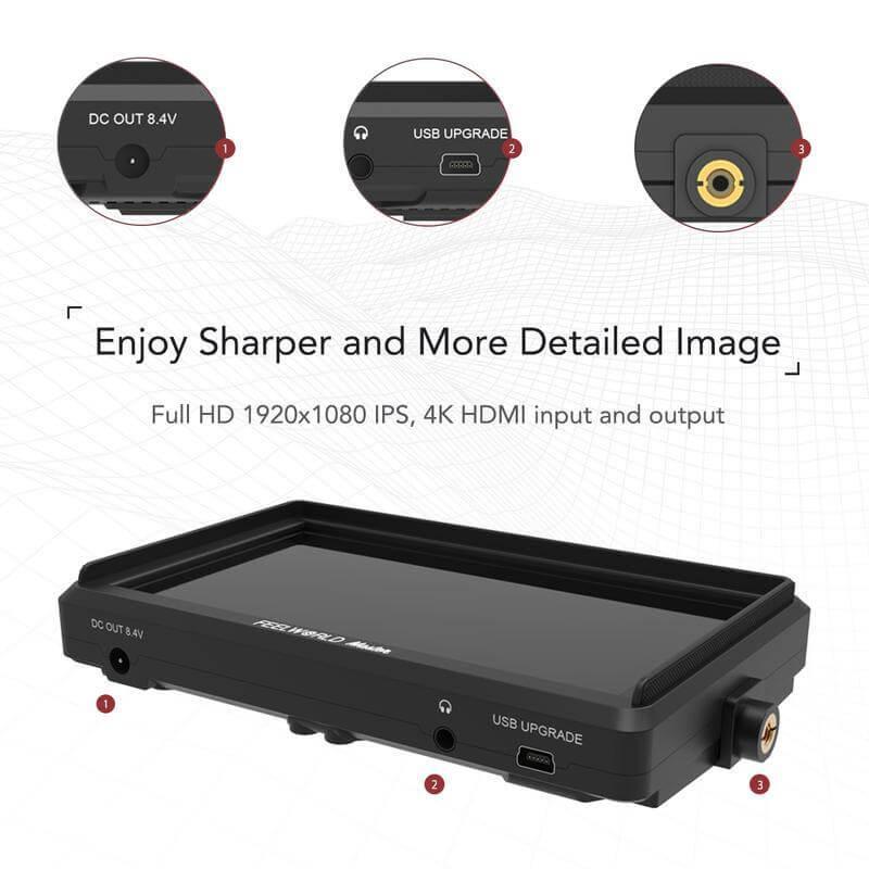 Feelworld Master MA6F 5.7 Full HD HDMI On Camera Monitor 17