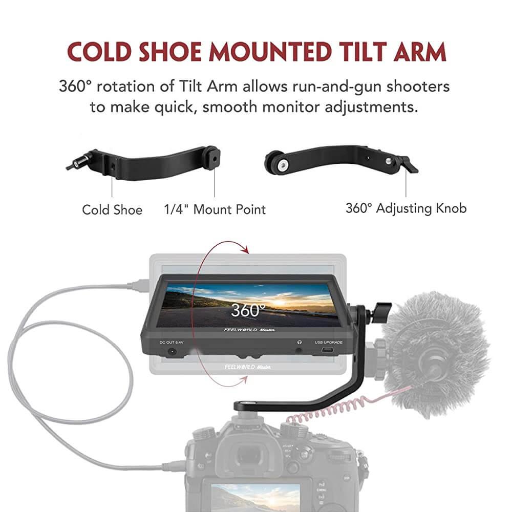Feelworld Master MA6F 5.7 Full HD HDMI On Camera Monitor 8
