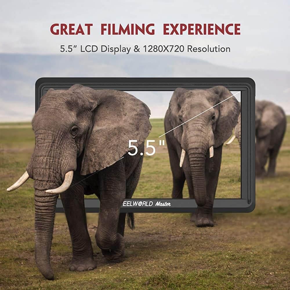 Feelworld Master MA6F 5.7 Full HD HDMI On Camera Monitor 9