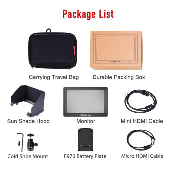 Feelworld Master MA7S 7 3G SDI 4K HDMI DSLR Monitor 11