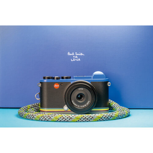 Leica CL Edition Paul Smith Mirrorless Digital Camera with 18mm Lens 1