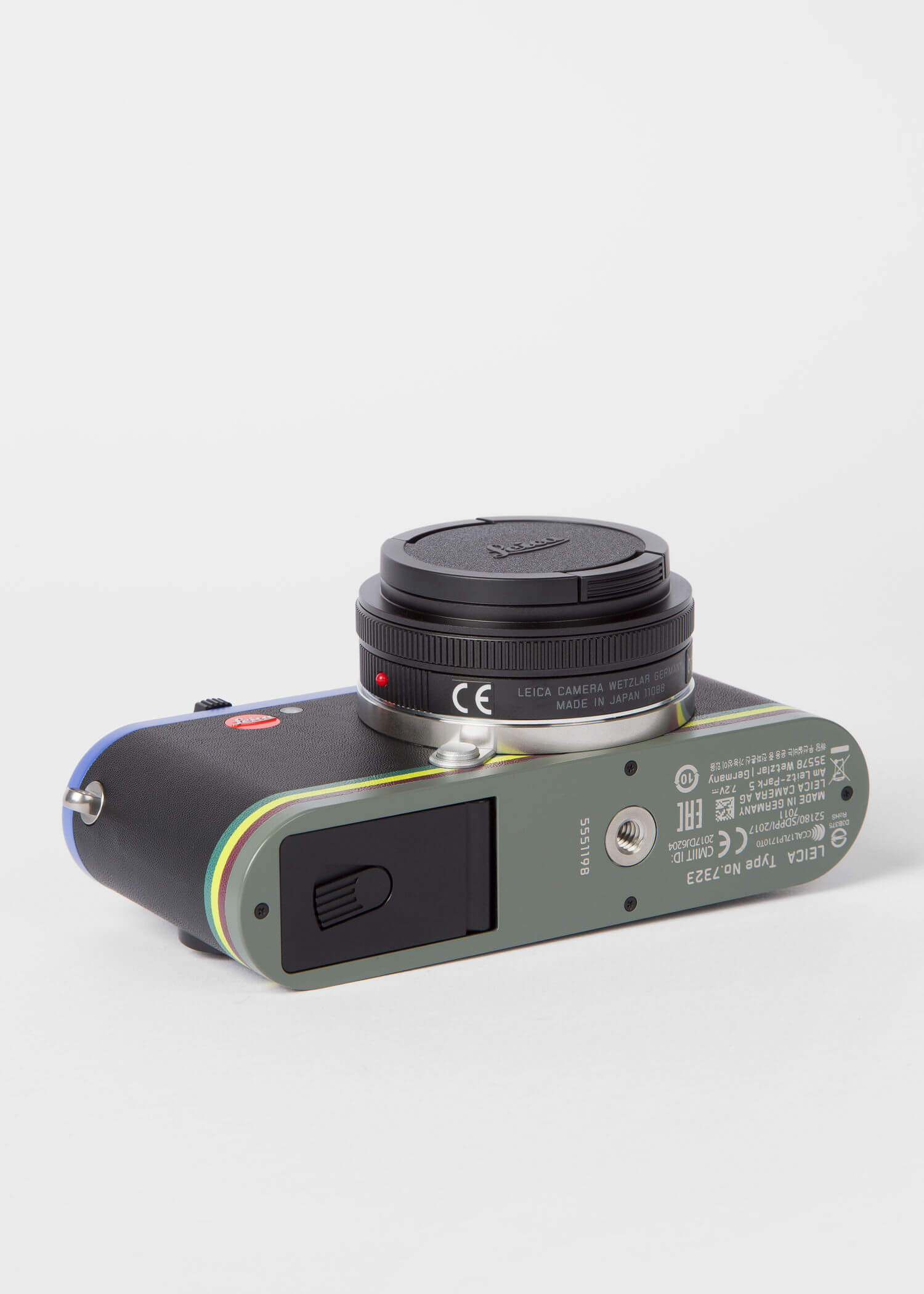 Leica CL Edition Paul Smith Mirrorless Digital Camera with 18mm Lens 10