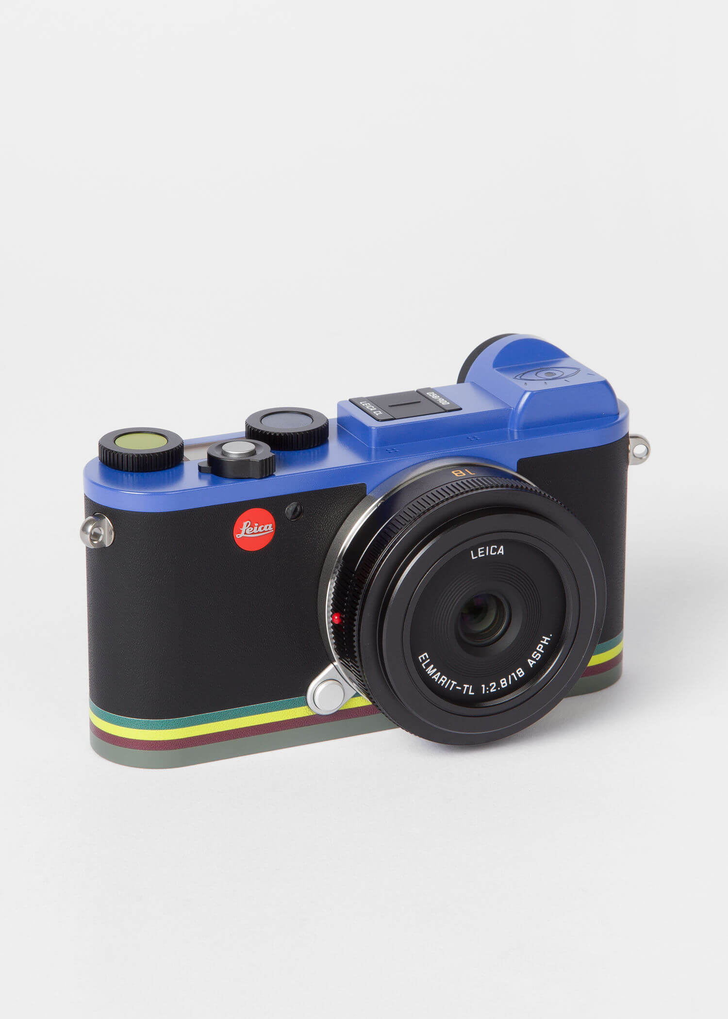 Leica CL Edition Paul Smith Mirrorless Digital Camera with 18mm Lens 3