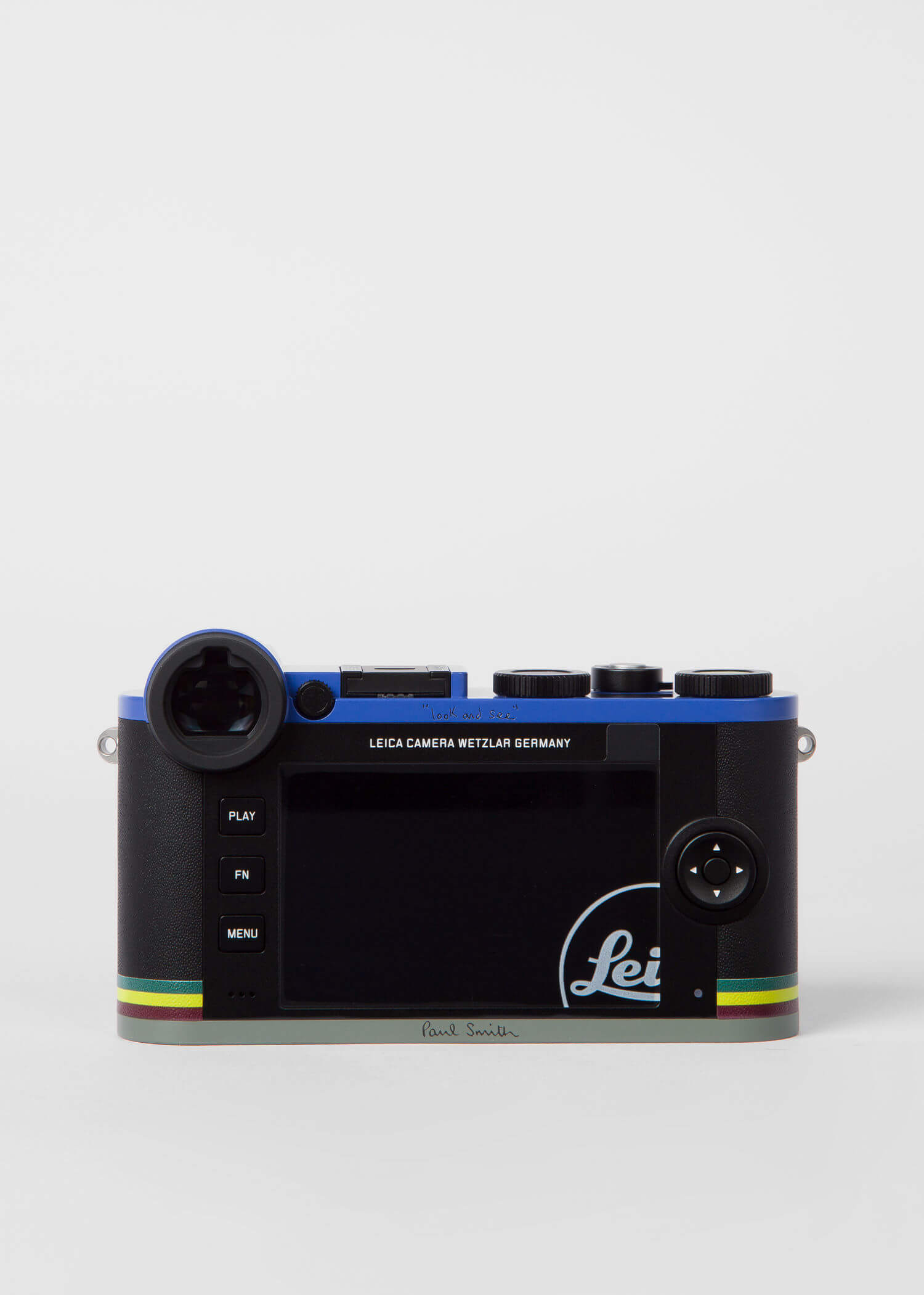 Leica CL Edition Paul Smith Mirrorless Digital Camera with 18mm Lens 5