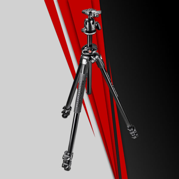 Manfrotto MK290DUA3 BH with 244RC Variable Friction 1
