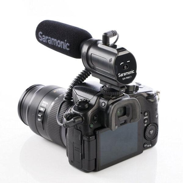 Saramonic SR PMIC1 Supercardioid Unidirectional Condenser Microphone 6
