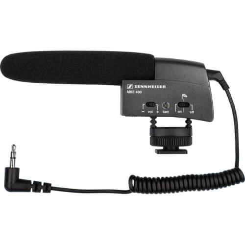 Sennheiser MKE 400 Camera Mount Shotgun Microphone 1
