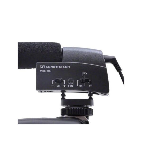 Sennheiser MKE 400 Camera Mount Shotgun Microphone 5