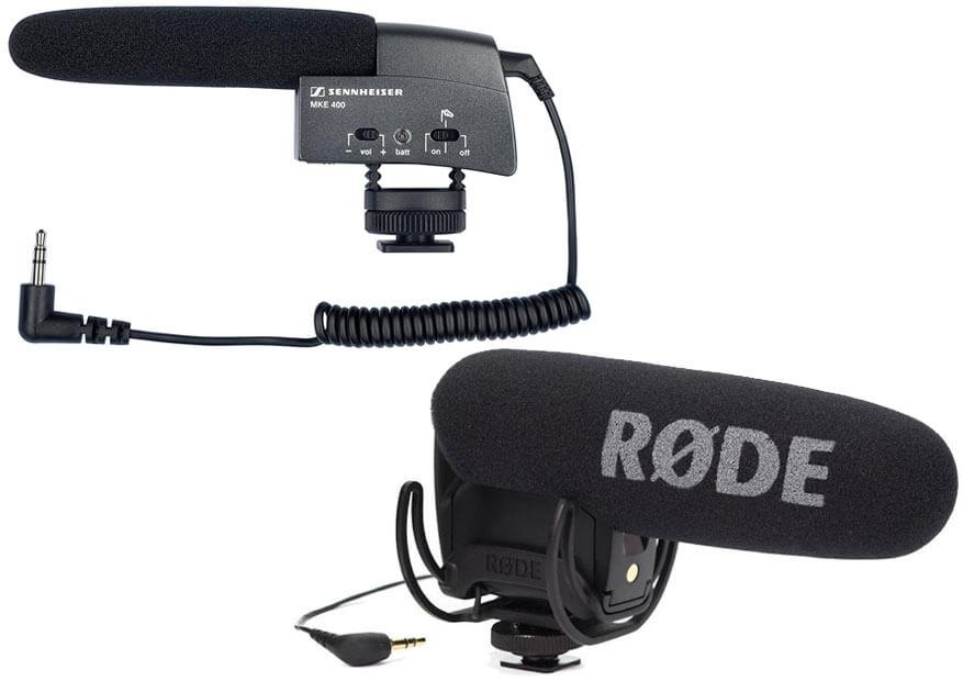 Sennheiser MKE 400 Camera Mount Shotgun Microphone 9