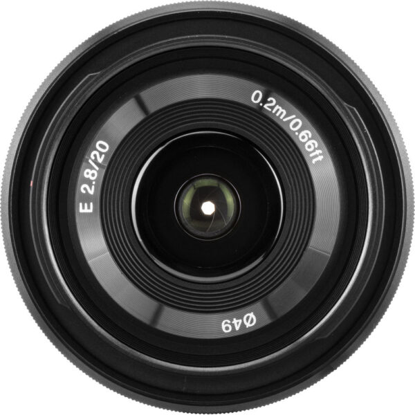 Sony E 20mm f2.8 Lens 5