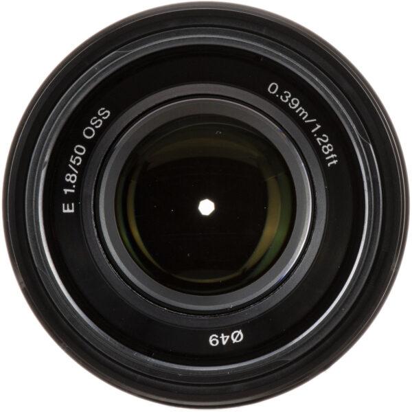 Sony E 50mm f1.8 OSS Lens Black 5 1