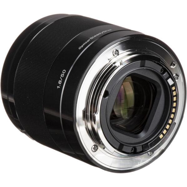 Sony E 50mm f1.8 OSS Lens Black6