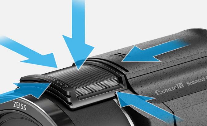 Sony FDR AX43 Handycam p11