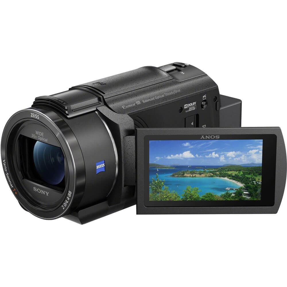 Sony FDR-AX43 UHD 4K Handycam Camcorder-1