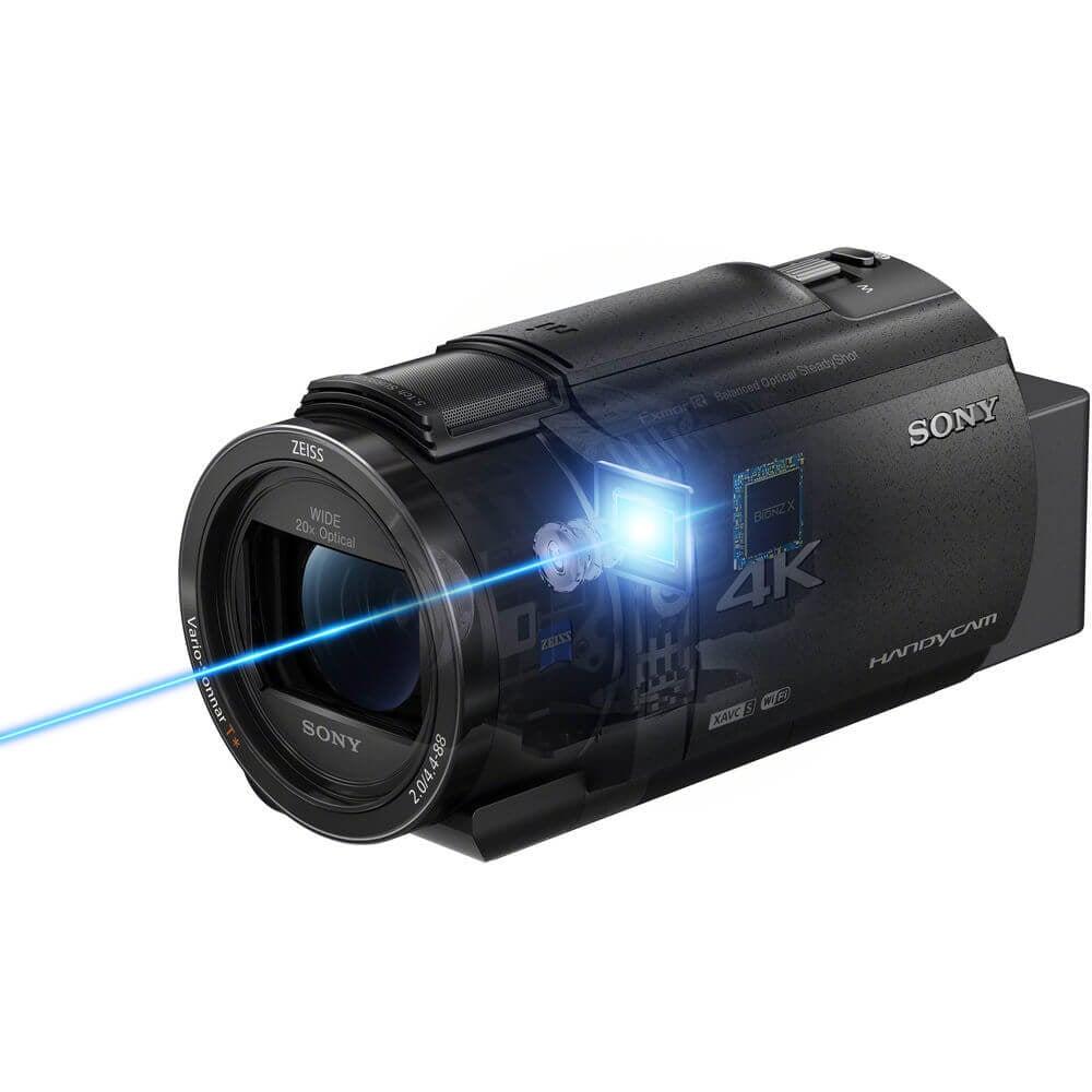 Sony FDR AX43 UHD 4K Handycam Camcorder 7