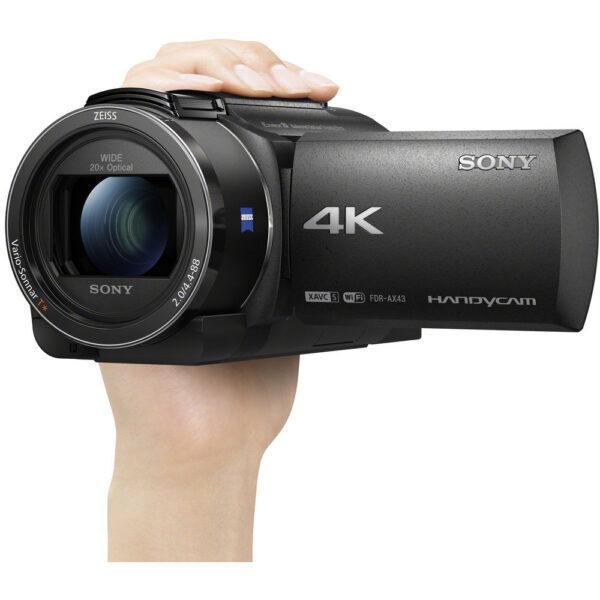 Sony FDR AX43 UHD 4K Handycam Camcorder 8