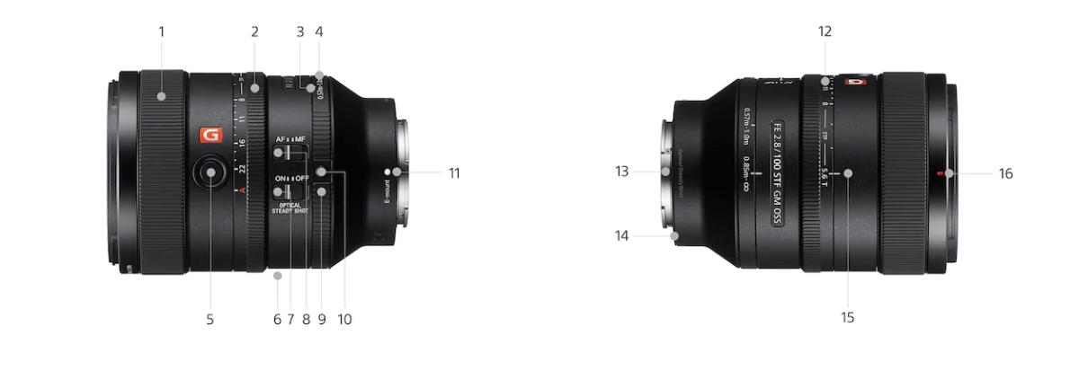 Sony FE 100mm f2.8 STF GM OSS Lens 35