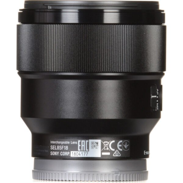 Sony FE 85mm f1.8 Lens 14