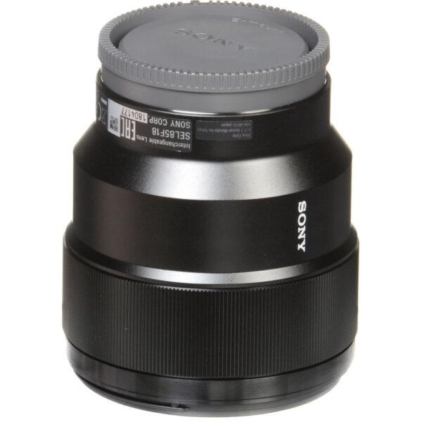 Sony FE 85mm f1.8 Lens 22