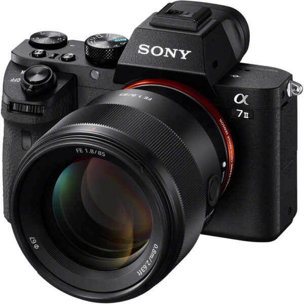 Sony FE 85mm f1.8 Lens 4