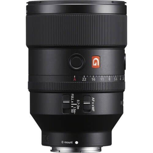 Sony Lens GM SEL135F18GM FE 135mm F1.8 GM 1