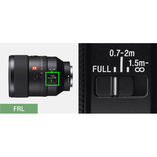 Sony Lens GM SEL135F18GM FE 135mm F1.8 GM 22