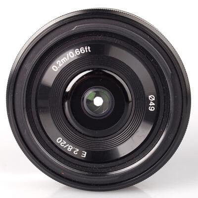 Sony Lens SEL16F28 E 16mm F2.8 2